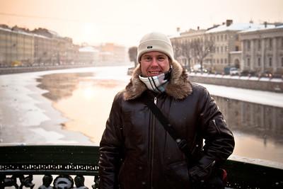 Me in Saint Petersburg, Russia.