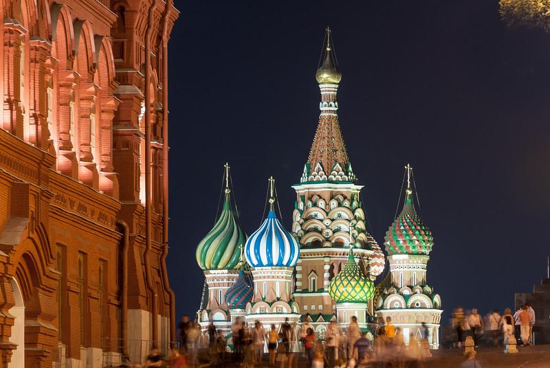 Saint Basil Church - Moscow, Russia