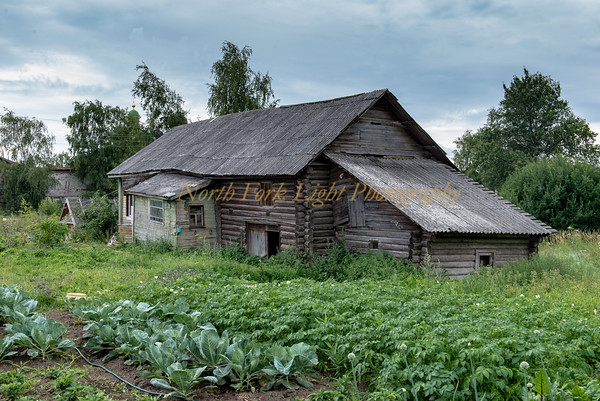 Traditional Russian farmhouse