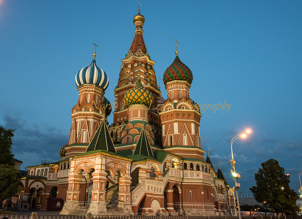 St Basil's Cathdral