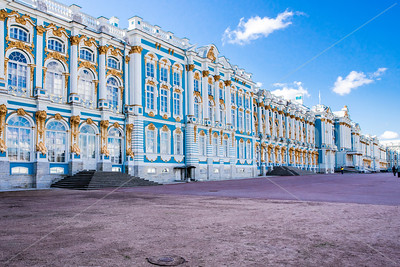 Catherine Palace in Pushkin-St Petersburg
