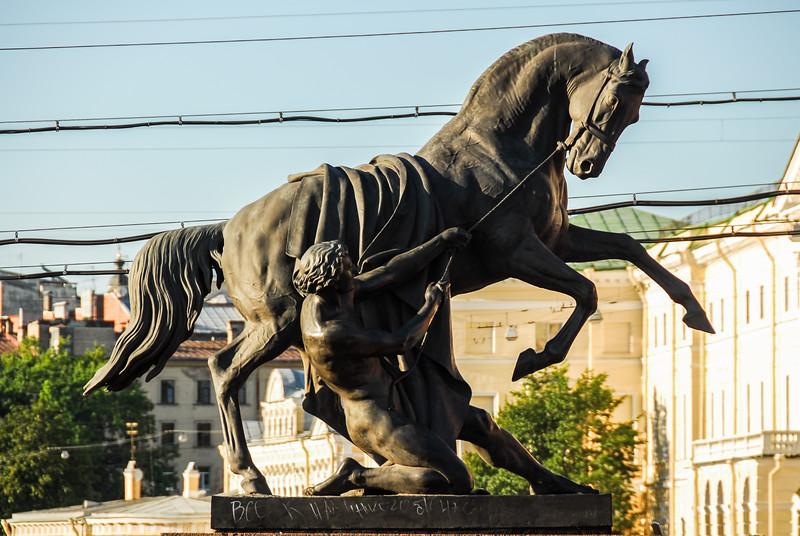 Horse Tamers Monument - Saint Petersburg, Russia