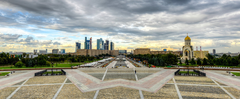 View from Poklonnaya Hill