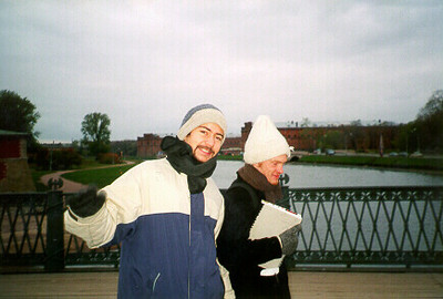 Juan & Stephane -- St. Petersburg, Russia