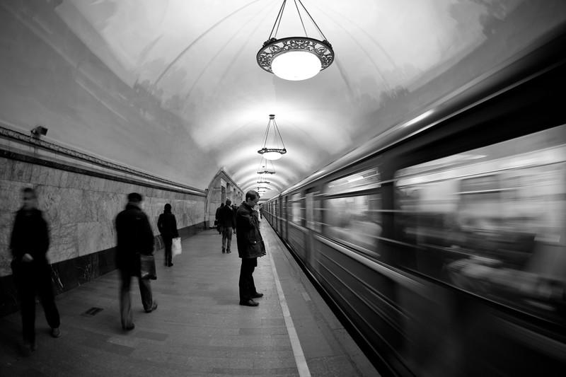 The Moscow Metro.