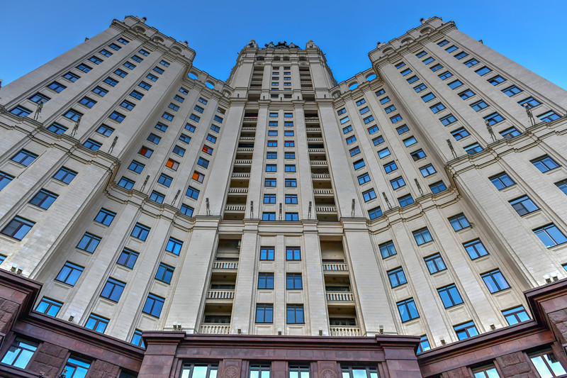Kotelnicheskaya Embankment Building - Moscow, Russia