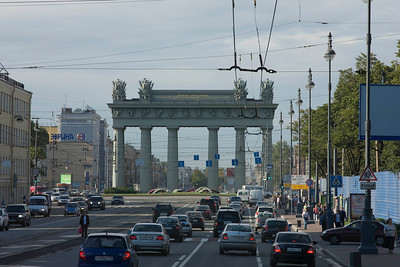Moscow Triumphal Arch, St Petersburg