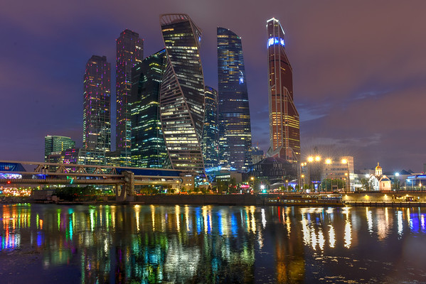 Moscow City - Moscow, Russia