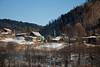 Village life near Lake Baikal, Siberia.