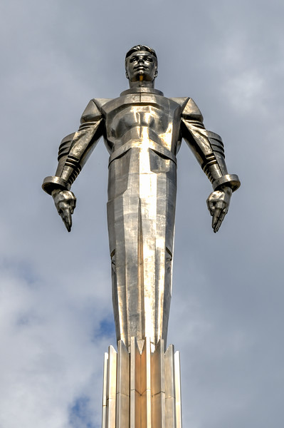 Gagarin Monument - Moscow, Russia