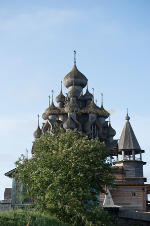 Wooden Onion Domes reach for the Sky