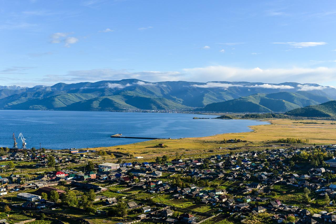 Western Tip of Lake Baikal
