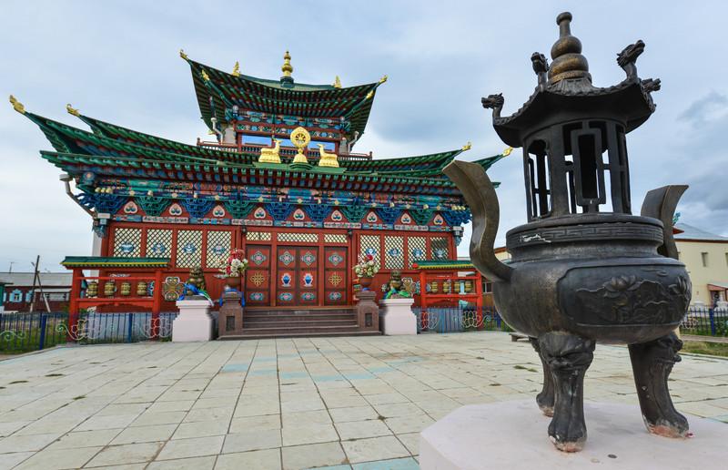 Ivolginsky Datsan, Buddhist Monastery, Russia