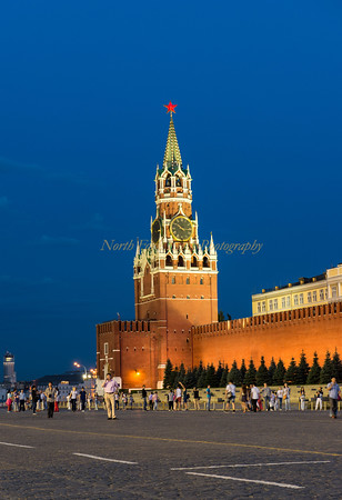 Spasskaya Tower in Red Square