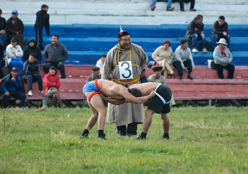 Three Games of a Man - Wrestling