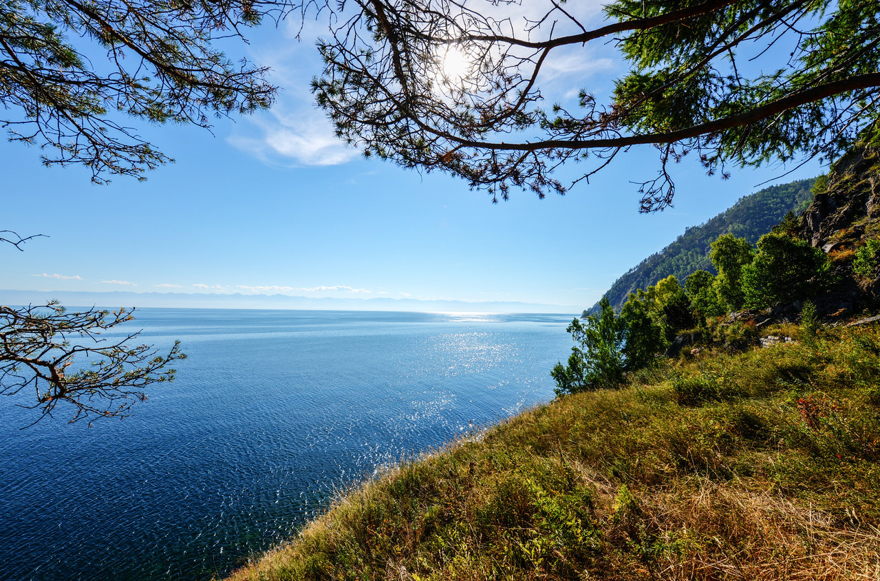 The Circum-Baikal Railway View