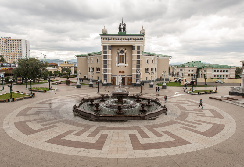 The Buryat National Academic Opera and Ballet House named after G. Tsyrenzhapov