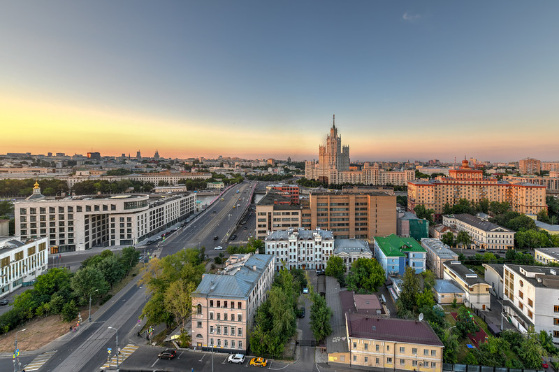 Moscow Skyline - Russia