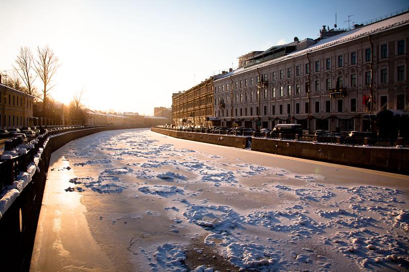 Scenes from Saint Petersburg, Russia.