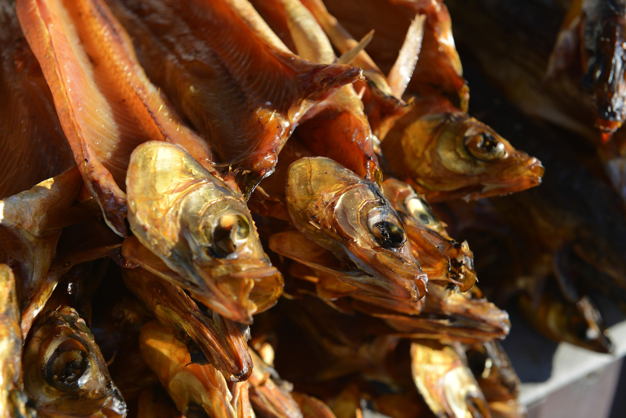 Smoked Omul Fish for Sale