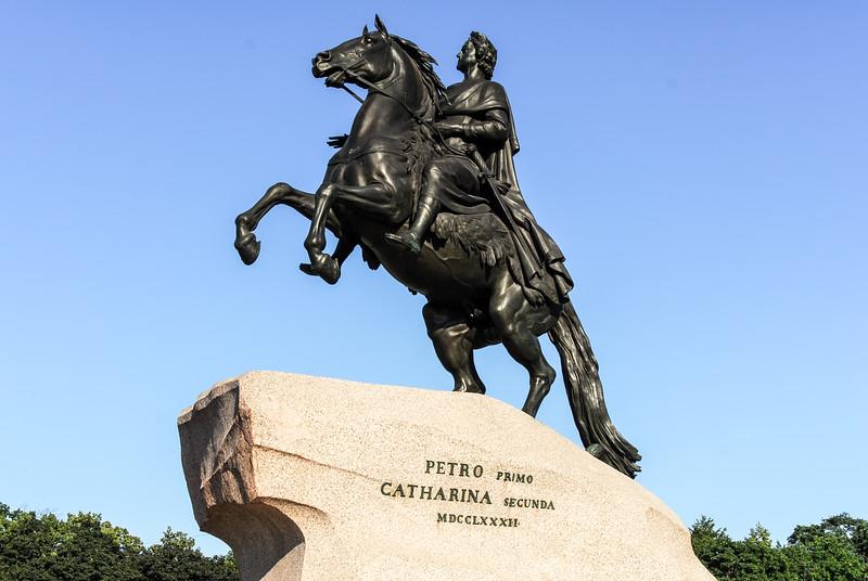 Bronze Horseman - Saint Petersburg, Russia