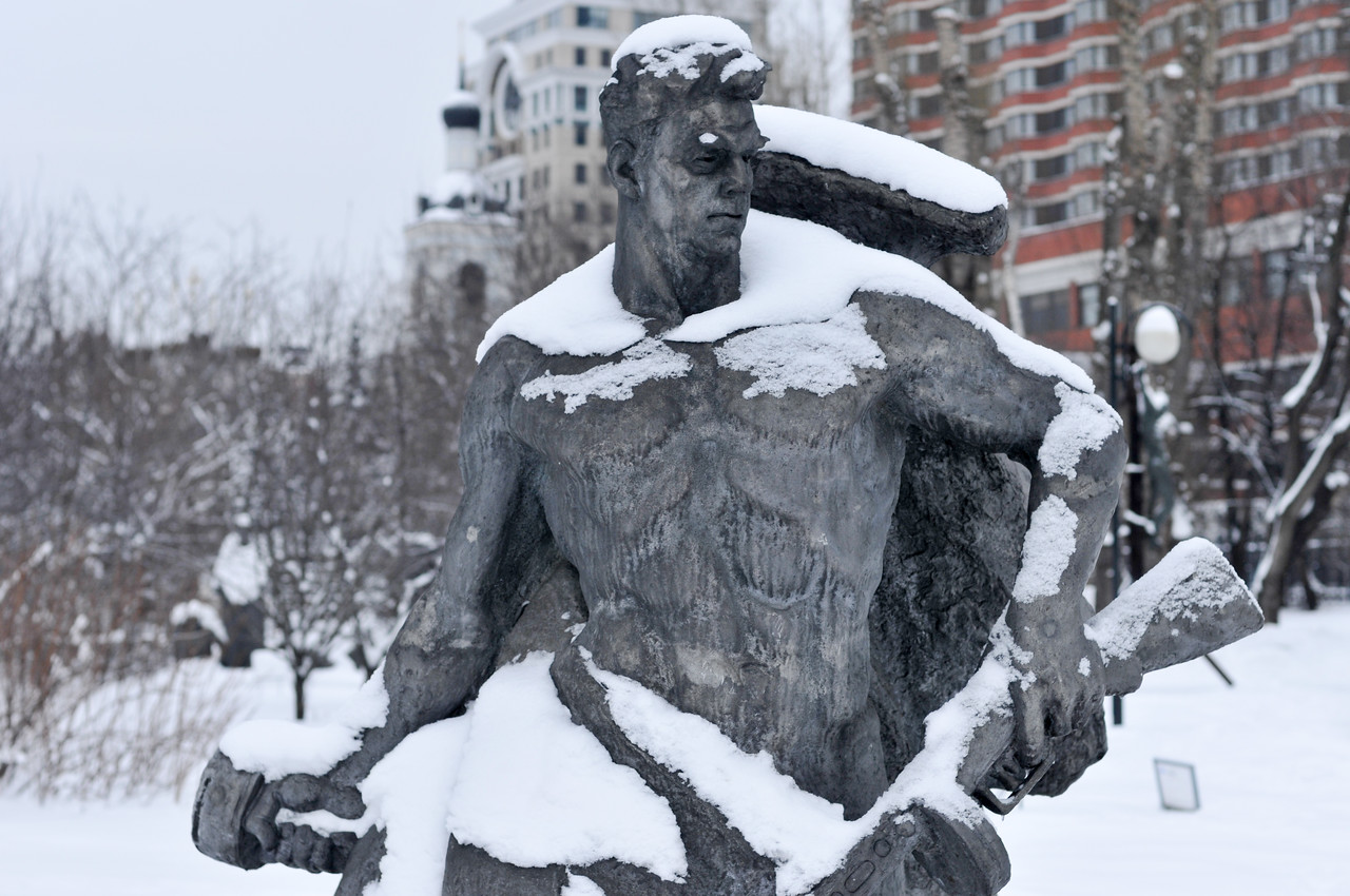 Fallen Monument Park - Moscow, Russia