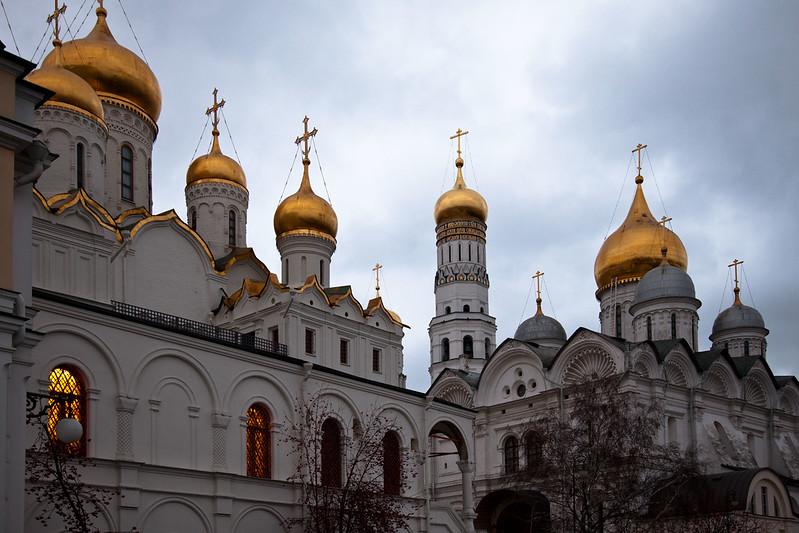 Inside the Kremlin, Moscow.
