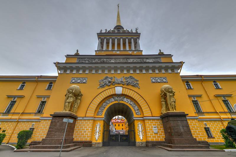Admiralty - Saint Petersburg, Russia
