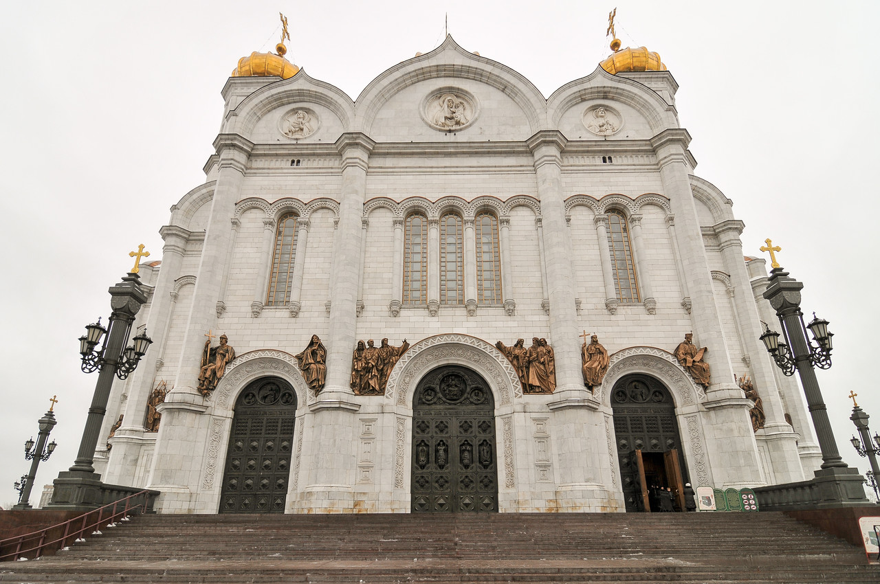 Church of Christ the Savior - Moscow, Russia