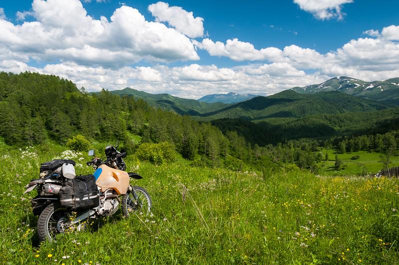 In search of a new route through the Altai. Altai Republic - Russia