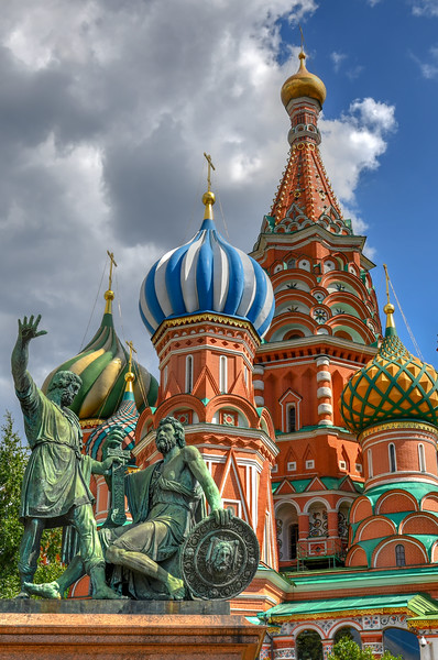 Cathedral of Vasily the Blessed - Moscow, Russia