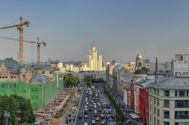 Moscow Panorama - Russia