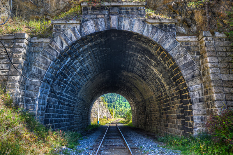 The Circum-Baikal Railway Tunnel