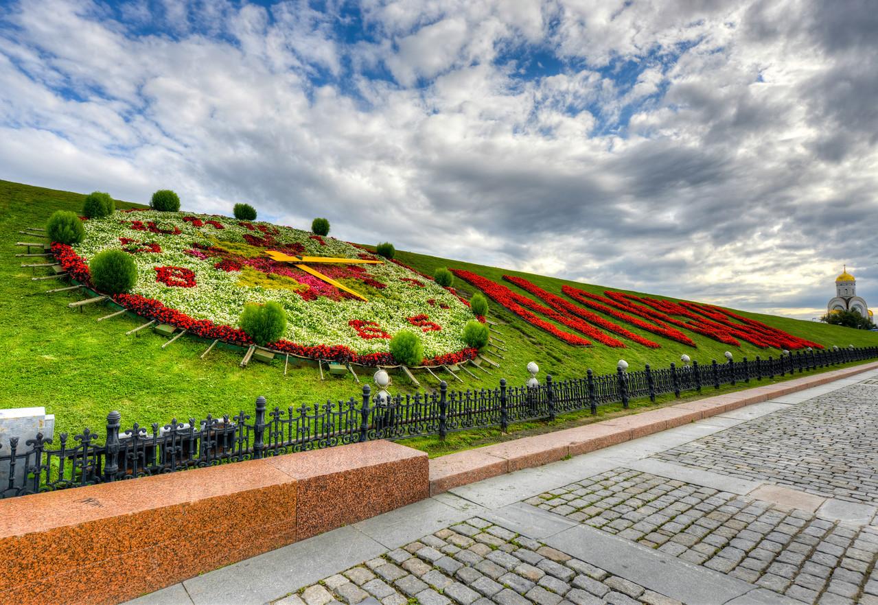 Moscow in Flowers, Poklonnaya Hill