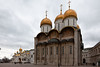 Cathedral of Dormition inside the Kremlin, Moscow.