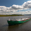 Tanker on the River Volga, Russia
