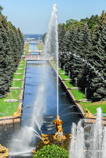 Peterhoff Palace Fountain