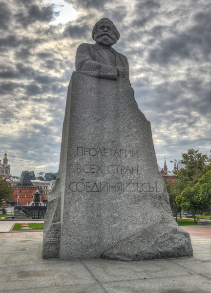 Karl Marx Monument, Moscow