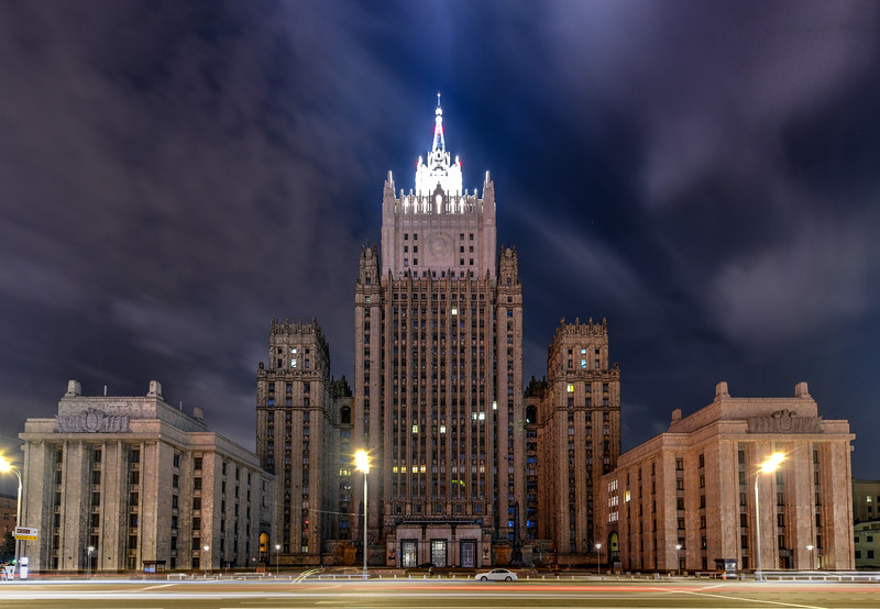 Ministry of Foreign Affairs buiding - Moscow, Russia