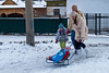 Russian winter prams.