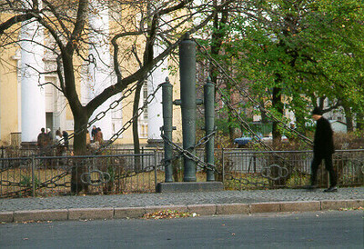 Church fence -- St. Petersburg, Russia
