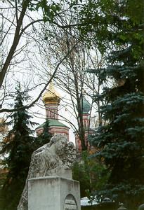 Novodevichy Monastary -- Moscow, Russia