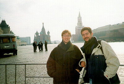 Juan & me, Red Square -- Moscow, Russia