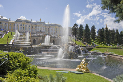 Peterhof Grand Palace, Near St Petersburg