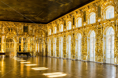 Ball Room-Catherine Palace in Pushkin-St Petersburg