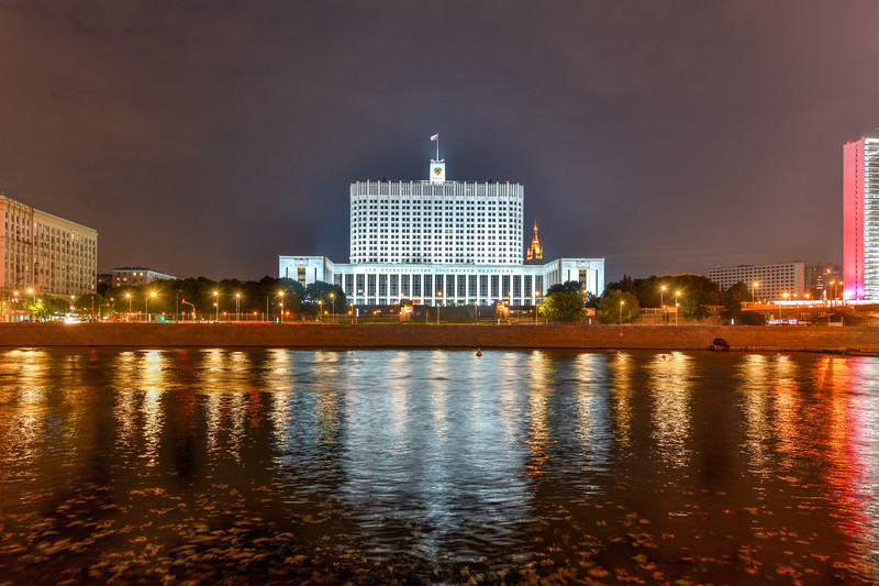 Russian White House - Moscow, Russia