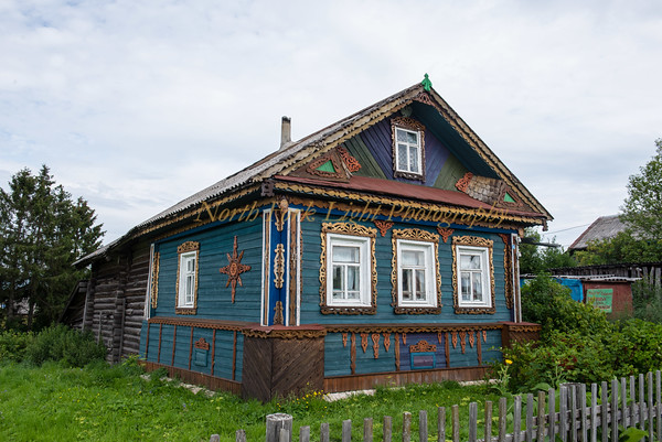 Russian country cottage