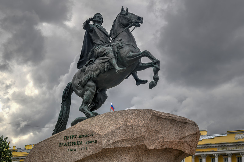 The Bronze Horseman - Saint Petersburg, Russia