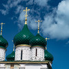 Onion Domes of the Church of Elijah the Prophet - Yaroslavl, Russia