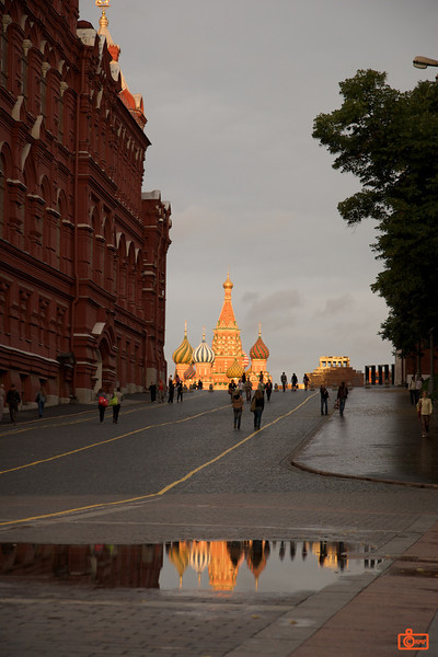 Red Square at sunset.<br /> IMG_5901